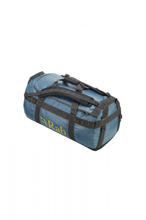 Rab Unisex Expedition Kitbag 80 Litre - Heavy Duty Duffell Bag - Blue